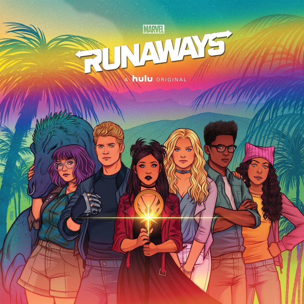Marvel S Runaways Original Soundtrack Lp Marvel