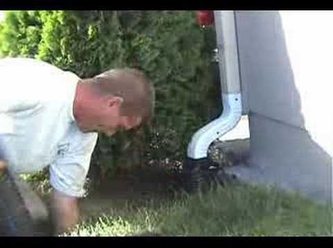 How to drain low spot in yard do it yourself for homeowners how to drain low spot in yard do it yourself for homeowners better than french drain youtube french pinterest french drain gardens and house solutioingenieria Image collections