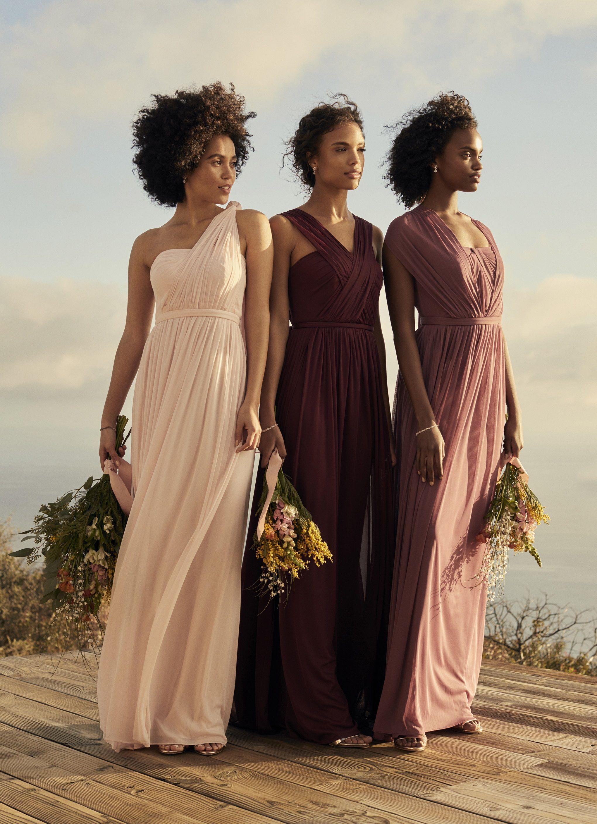 New Wedding Colors to Consider Davids bridal bridesmaid
