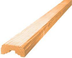 6 99 Per 2 X 4 X 8 Ac2 Microshades Cedartone Pressure Treated Handrail Model Number 2x4x8ctonehrail Menards Sku 1116054 9 Wood Menards Handrail