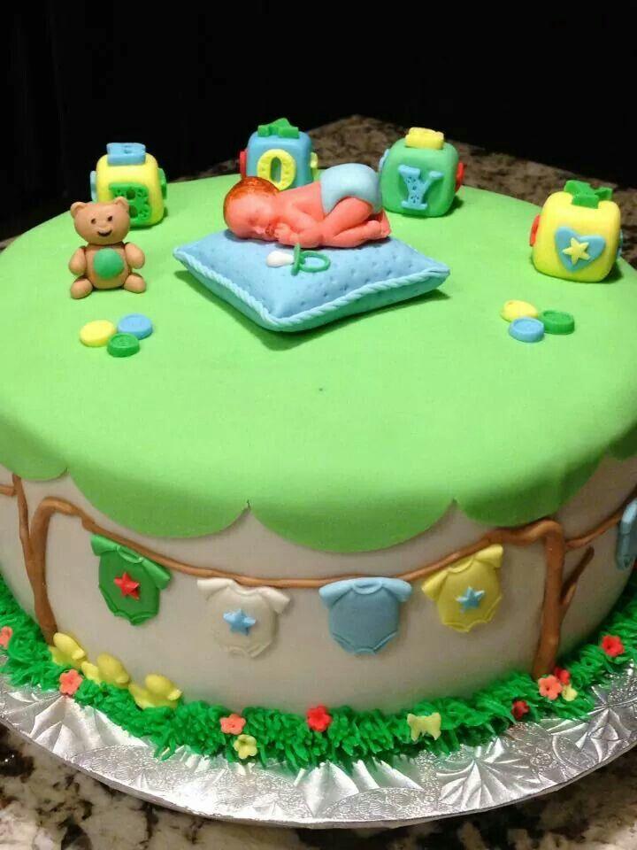 Leo Lay Baby Shower cake Leo Lay
