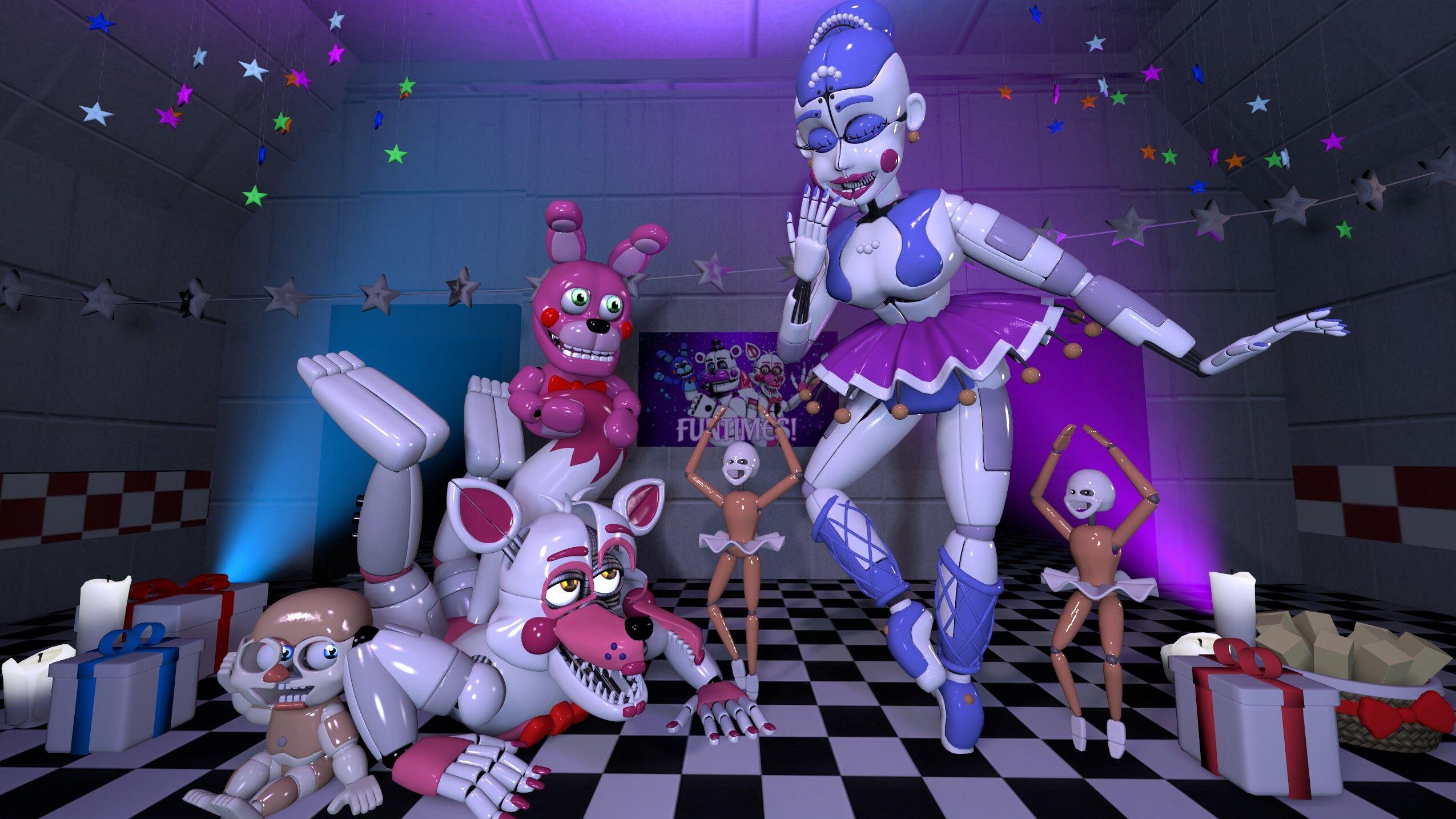 картинки аниматроников бейби балоры и фантайм фокси цена высока