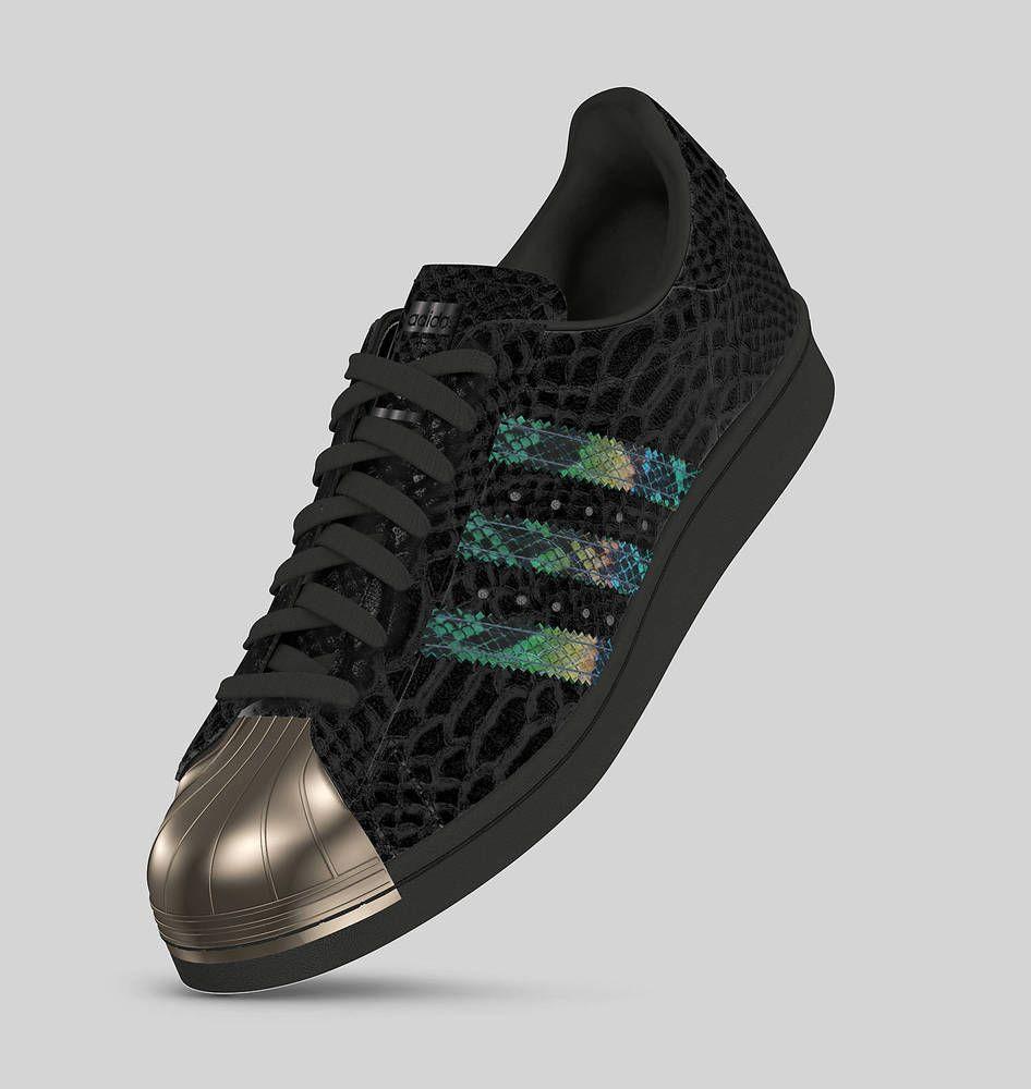 adidas superstar rainbow snakeskin
