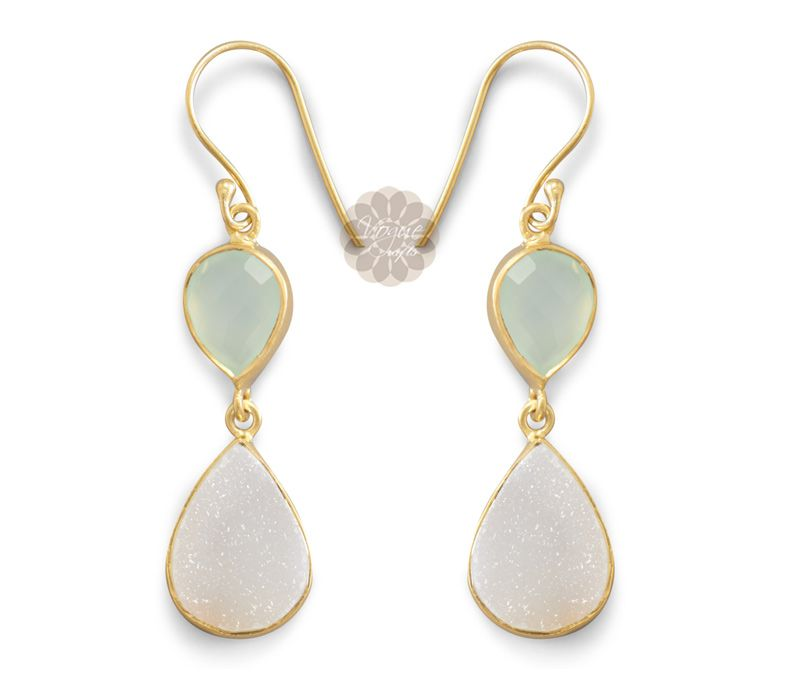 Vogue Crafts Designs Pvt Ltd manufactures Druzy and Gold Drop