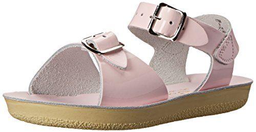 Salt Water Sandals by Hoy Shoe Sun-San Surfer,Pink,12 M US