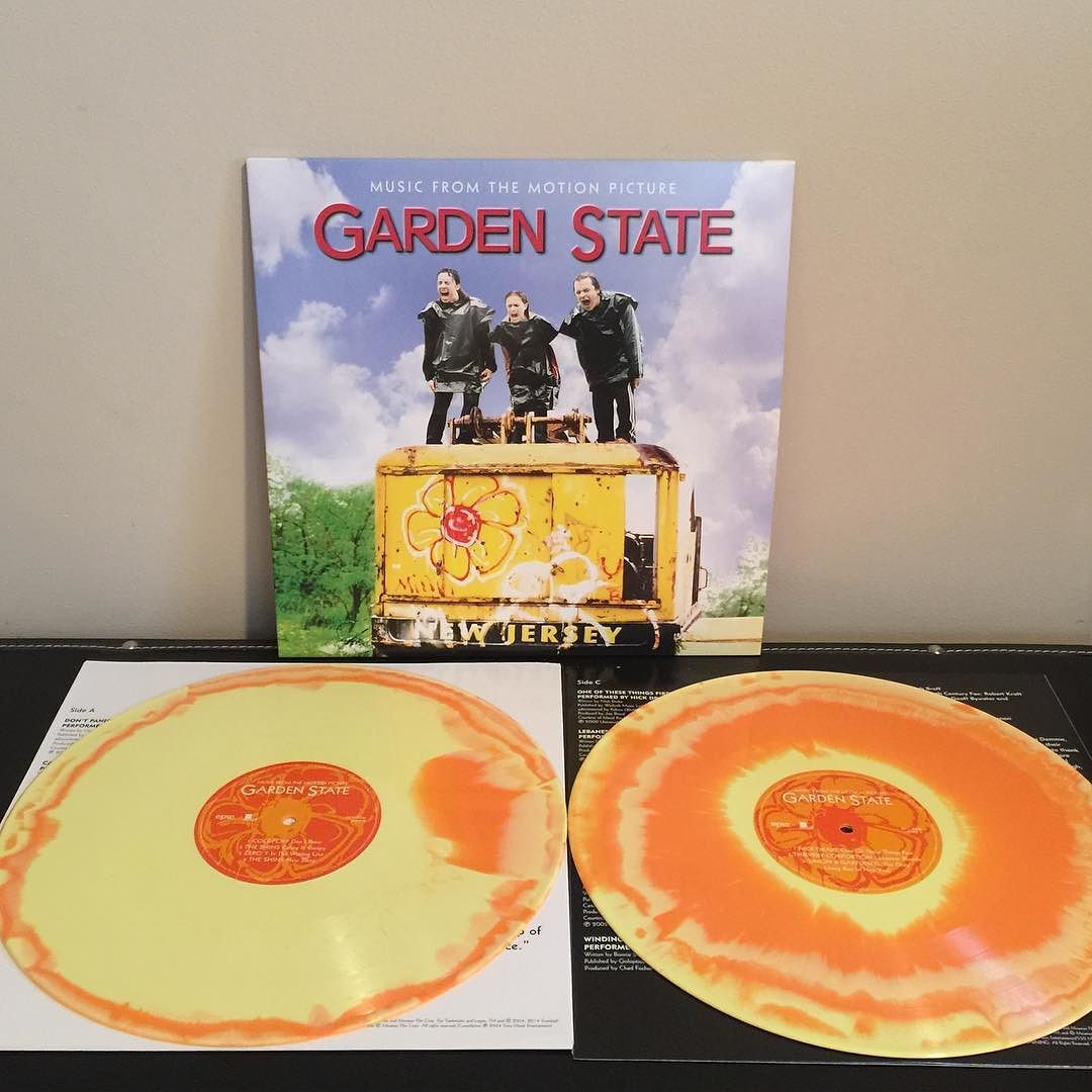 Good Luck Exploring The Infinite Abyss Garden State Motion Picture Soundtrack Orange