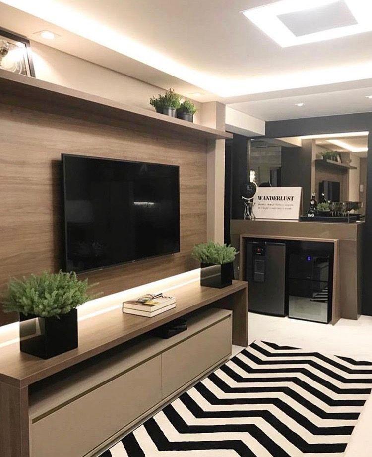 Table de télé   Meuble tv en 2019   Living Room, Room et Decor