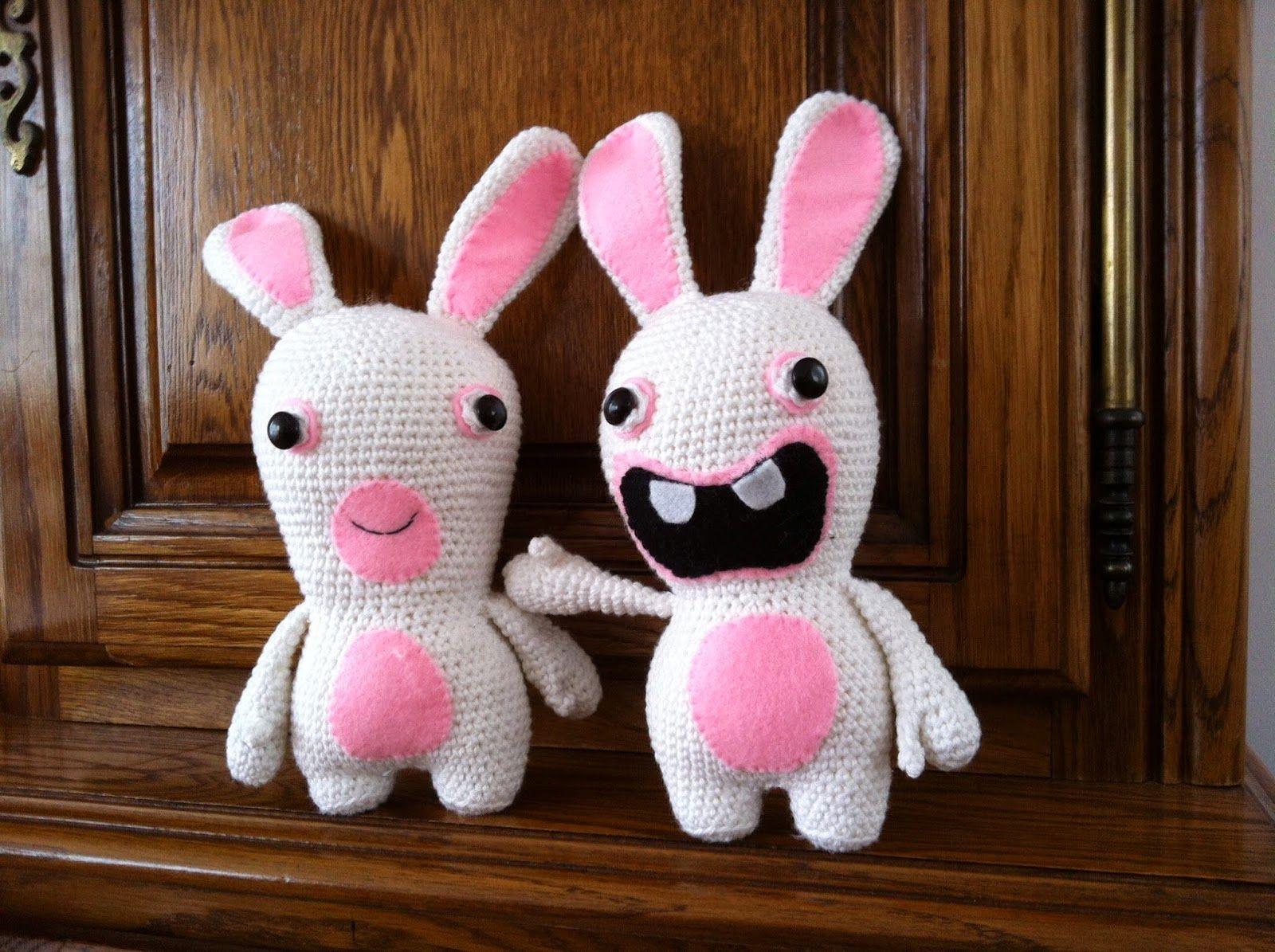 Lapin Cretin Au Crochet Lapin Cretin Crochet Lapin