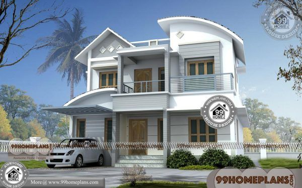 Home Plan Indian Style 40 Beautiful Two Storey House Designs Ideas Small House Blueprints Small Contemporary House Plans House Plans With Photos Small house indian style