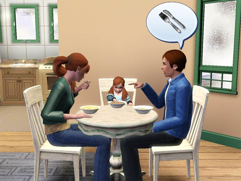 Mod The Sims Toddler Dining Chairs Set Sims Stuff Sims Sims 3