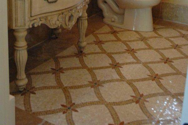 Eco Friendly Flooring With 10 Best Materials: Beautiful Tile Bathroom Floor  In Best Modern Home Designs Exquisite Bathroom Vanity Design With Beautiful  ...