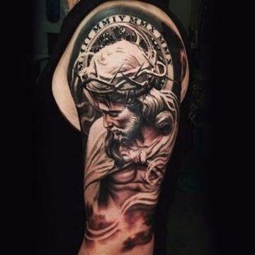 Algunos De Los Diseños Para Tatuajes Religiosos En El Brazo