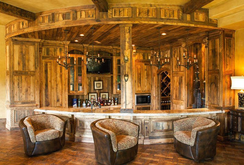 Lodge style bar | Home-Bar | Pinterest | Lodge style, Bar and House