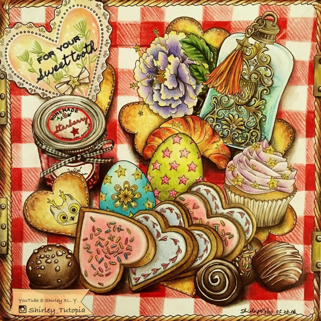 Moderno Candyland Para Colorear Libros Regalo - Ideas Para Colorear ...