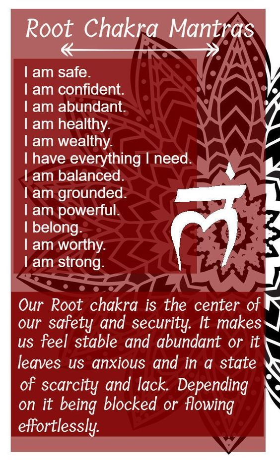 Your Root Chakra Or Money Chakra Can Be Damaged Throughout Life