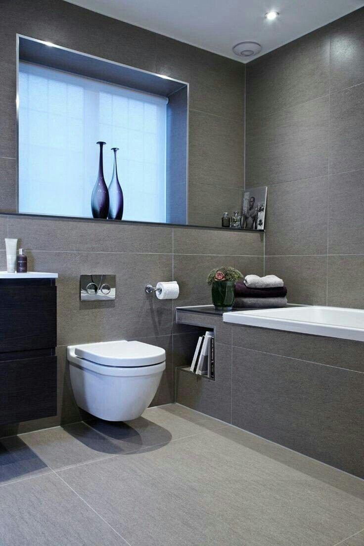 Badezimmerdesign graue fliesen pin von goka auf badezimmer  pinterest  badezimmer bad und