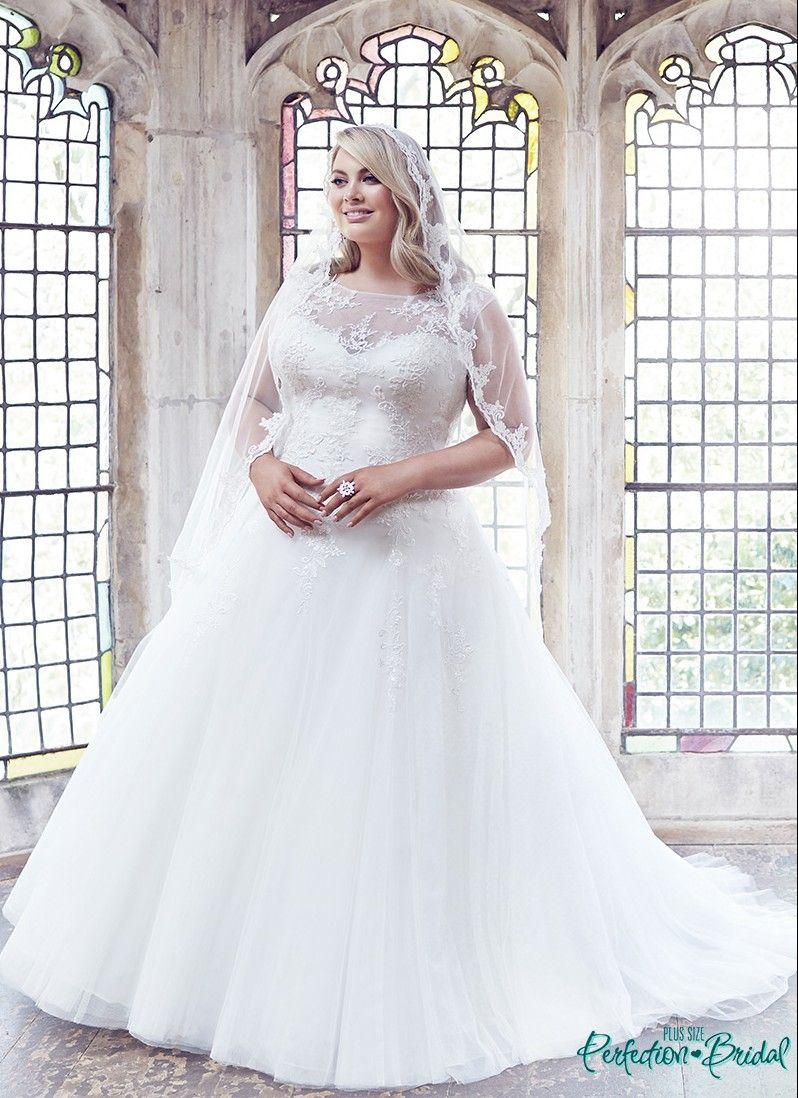 Princess plus size wedding dresses Anastasia Melbourne