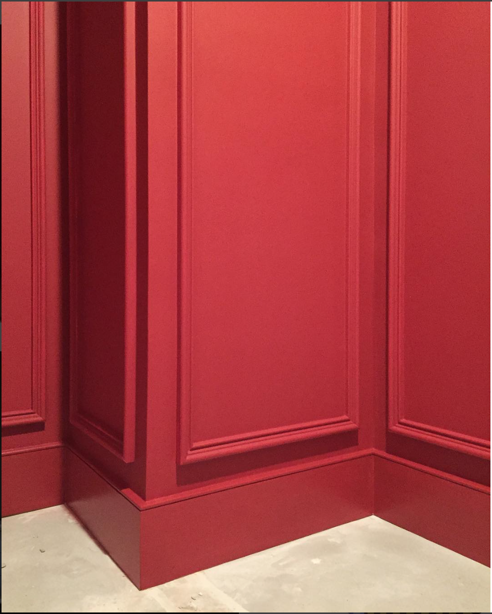 Http Www Tphblog Category House Red Walls