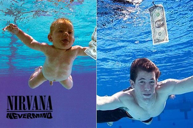 The baby from the Nirvana cover is all grown up!