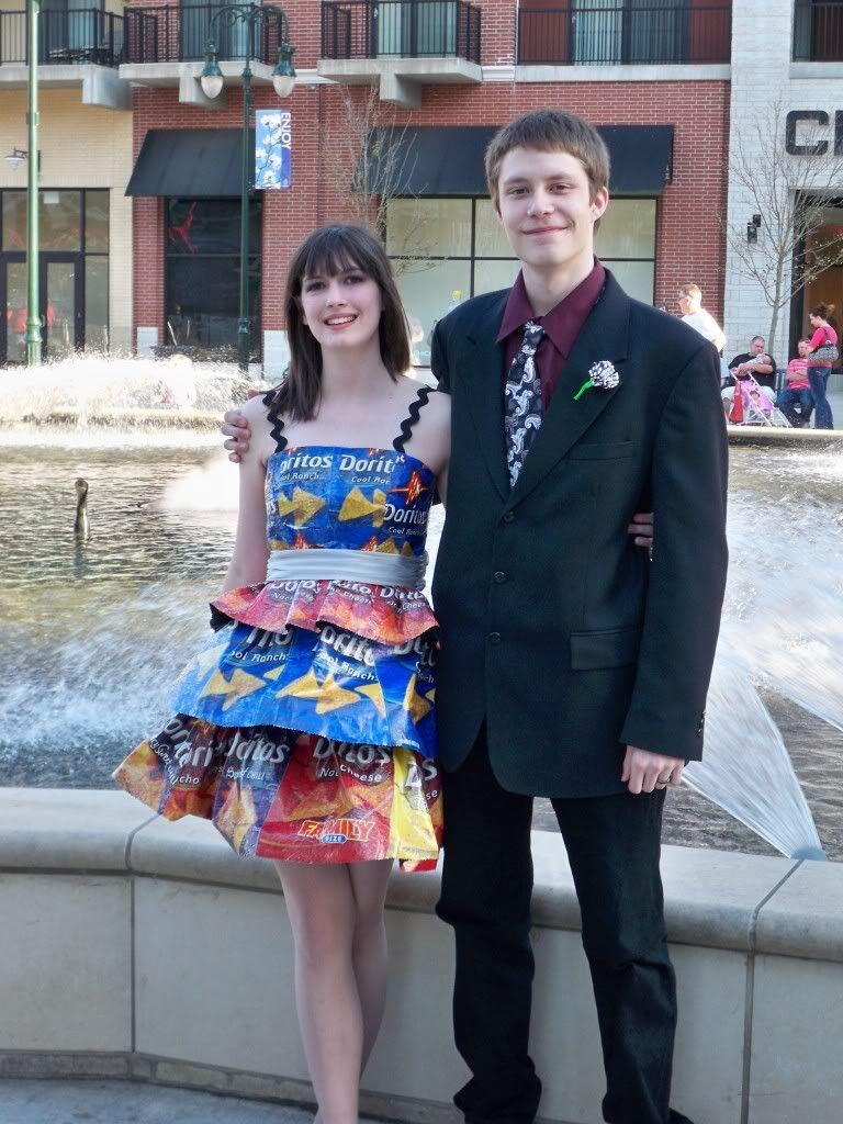 Recycled Graduation Dresses