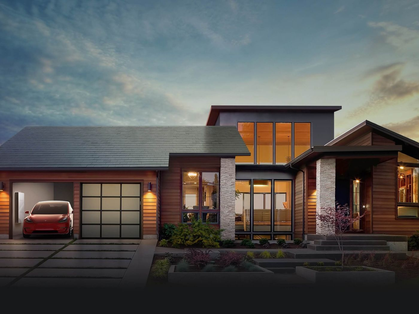 Tesla S New Rooftop Solar Panels Don T Look Like Solar Panels With Images Tesla Solar Roof Solar Roof Shingles Solar Tiles