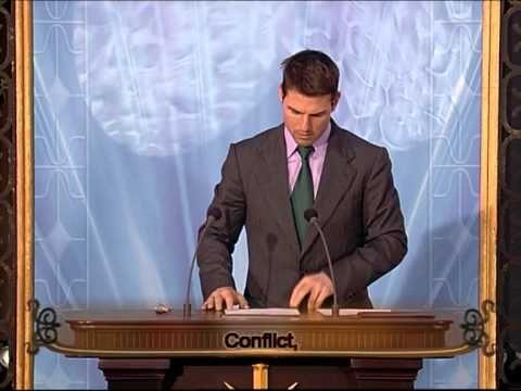 Tom Cruise Scientology Madrid Opening SCIENTOLOGY MI RELIGION - Tom cruise religion