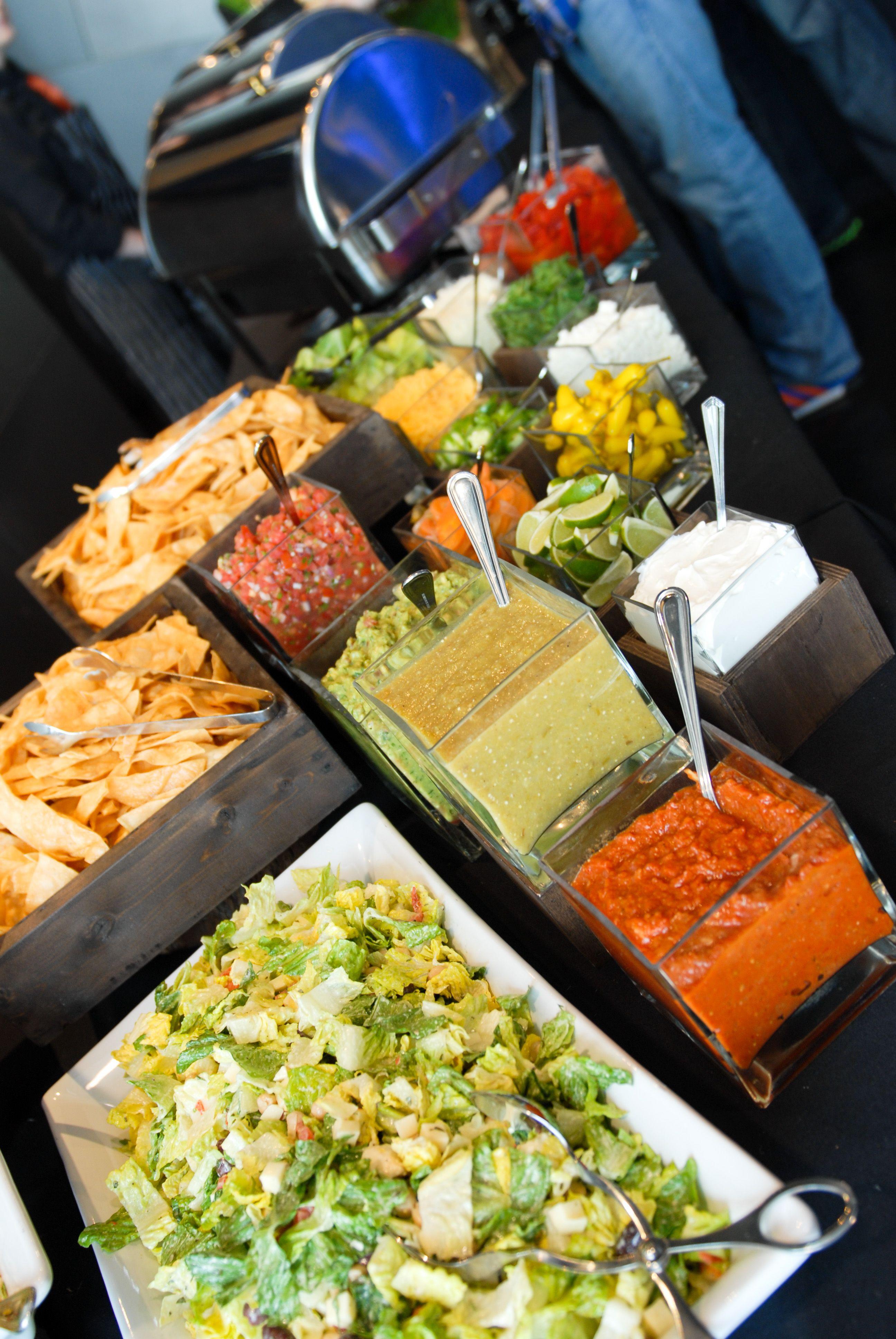 Taco Bar Event Catering Taco Bar Premium Food