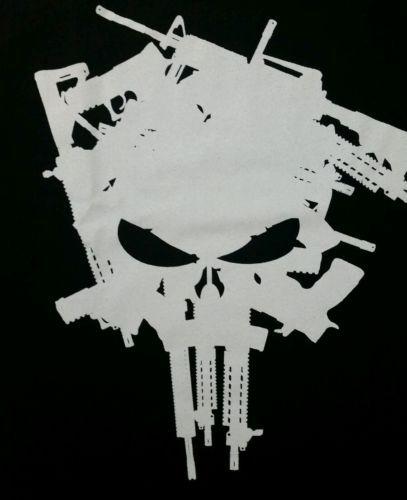 The punisher skull guns logo marvel comics licensed adult t shirt the punisher skull guns logo marvel comics licensed adult t shirt publicscrutiny Gallery