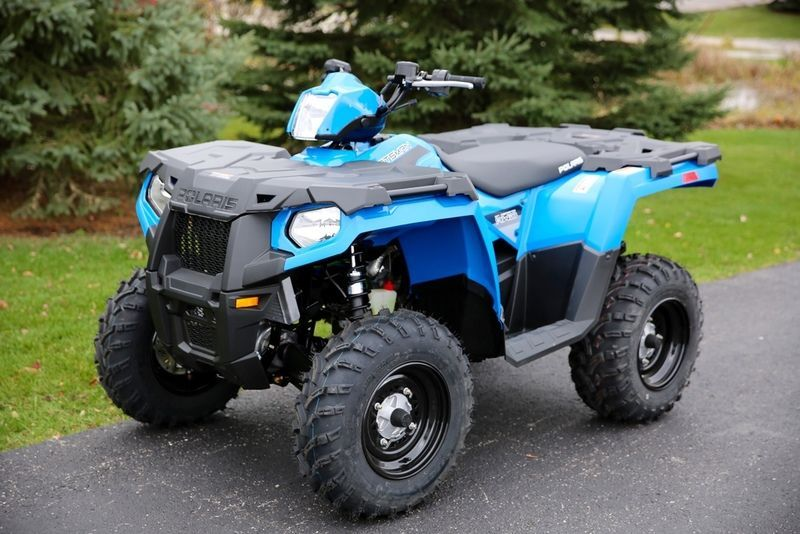 2016 Polaris Sportsman 450 Ho Velocity Blue For Action