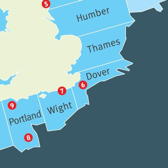 Sea Areas. Coastal Stations. The British Isles Shipping Forecast. Rising slowly. Viking, Cromarty, F #britishisles