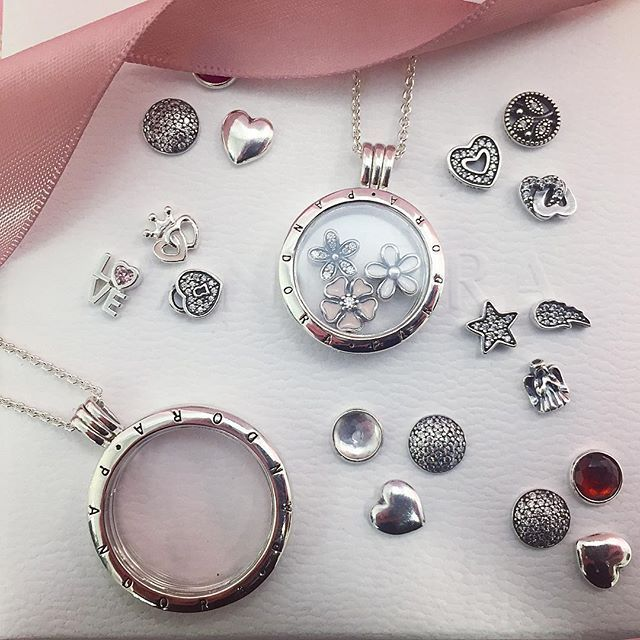 54 ...My Pandora Silver *Floating Locket* Collection ❤ ideas ...