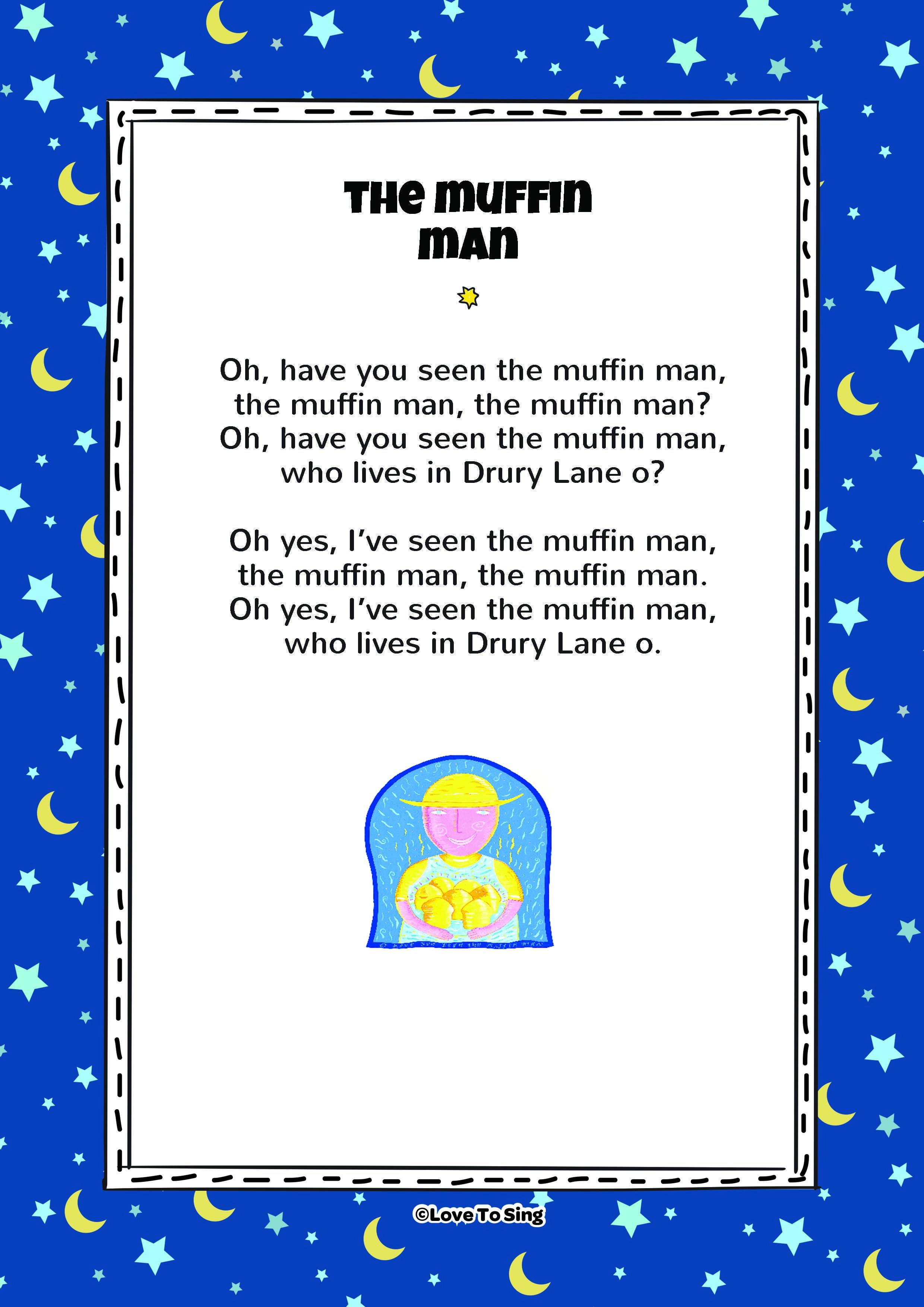Nursery Rhyme The Muffin Man Kids Will Love This Fun Sing