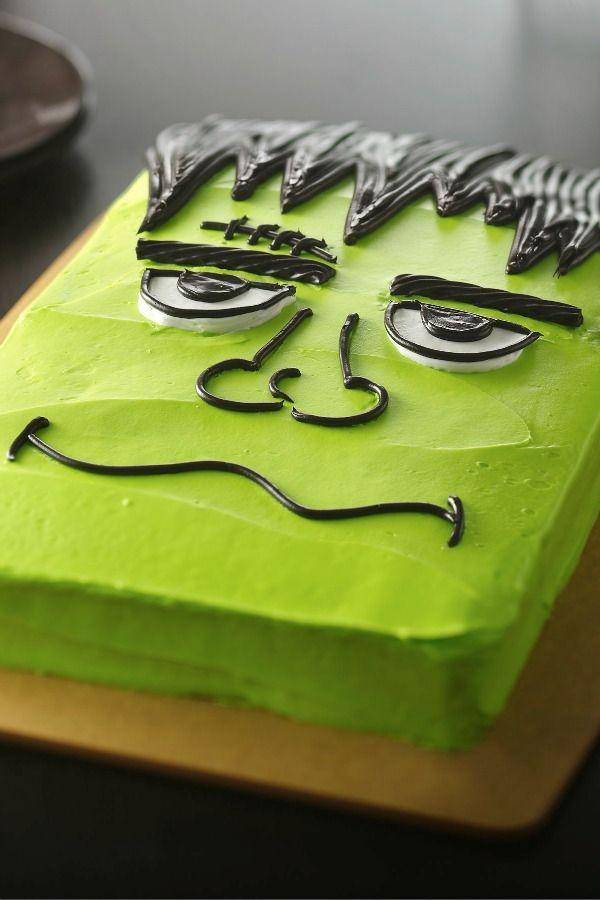 halloween monster cake - Scary Halloween Cake Recipes