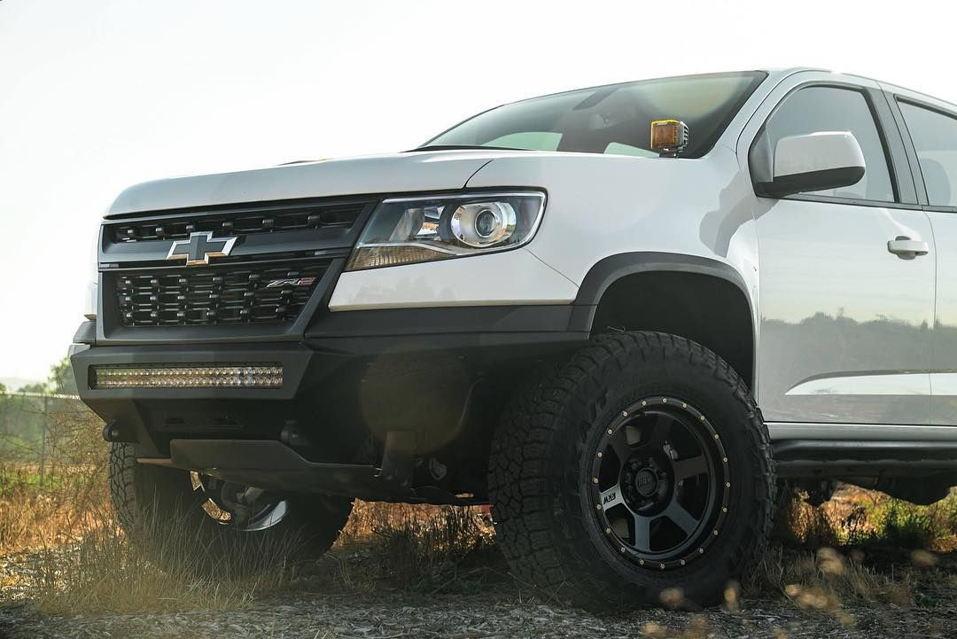 2017 2020 Chevy Colorado Zr2 Stealth Fighter Front Bumper