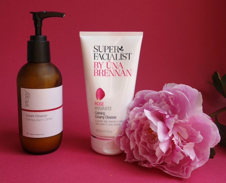 War of the Roses: Trilogy Cream Cleanser and Superfacialist Una Brennan Rose Hydrate Calming Cream Cleanser