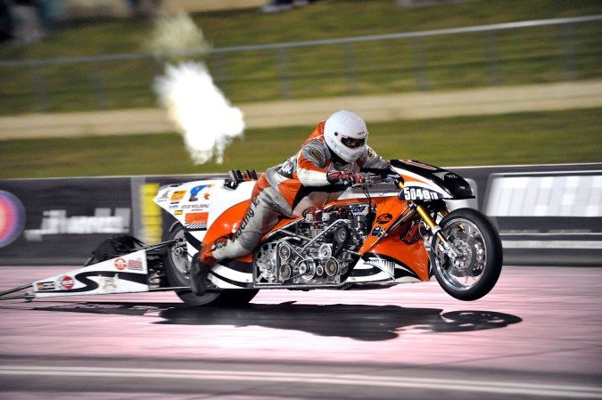 Athol Williams Top Fuel Bike Motorcycle Drag Racing Drag Bike