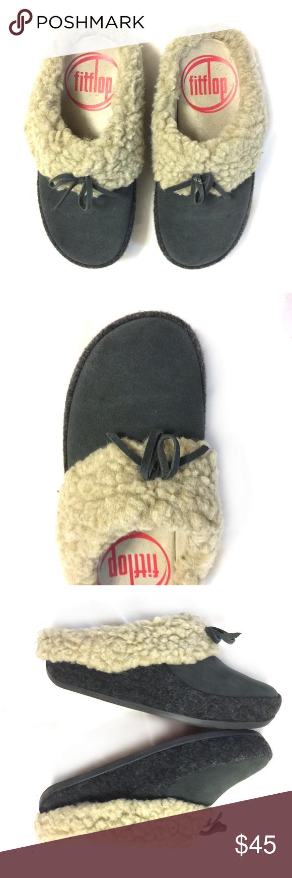 599b3d57826 FITFLOP Women's The Cuddler Slippers/ Sz 6 & 6.5 Soft, pillow-padded ...