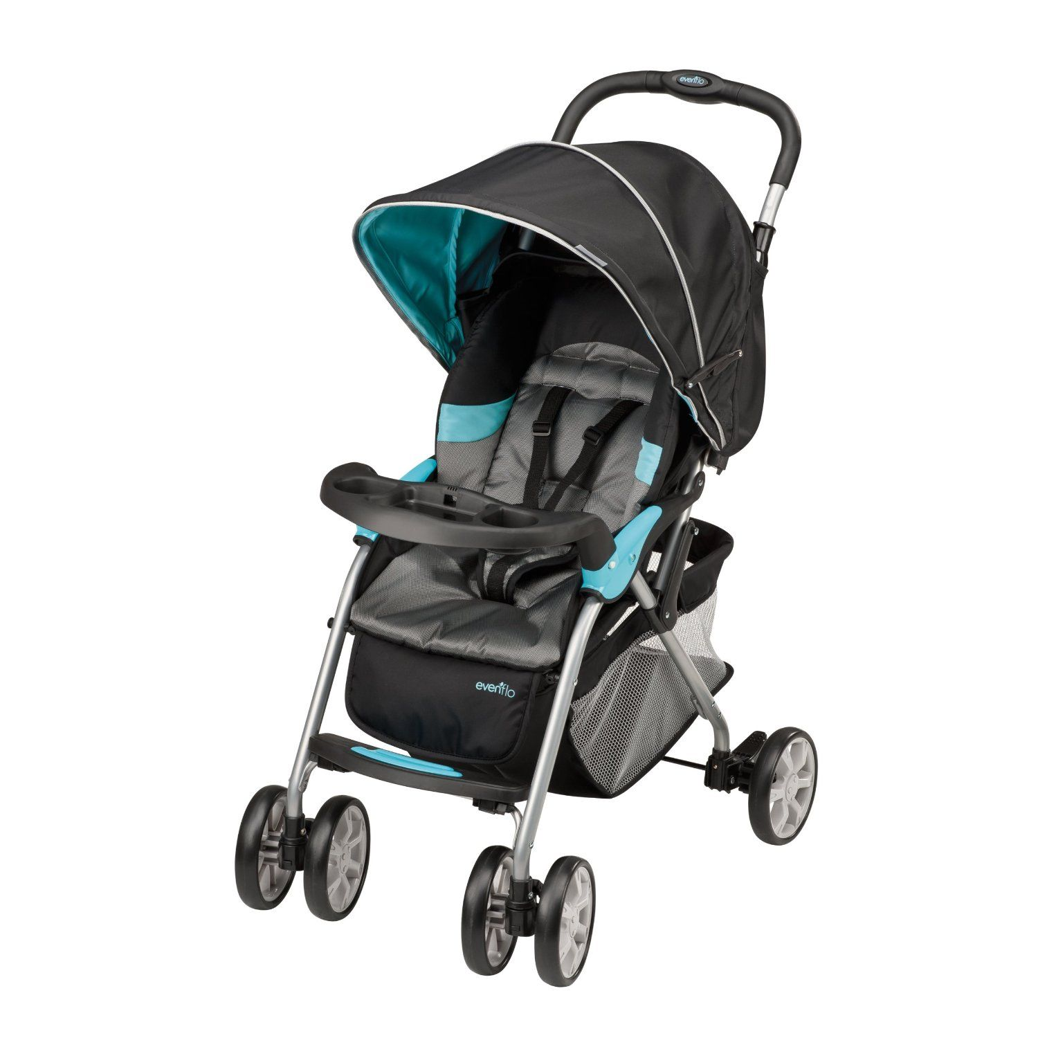Amazon.com: Evenflo FeatherLite 200 Stroller with Embrace 35 Car ...