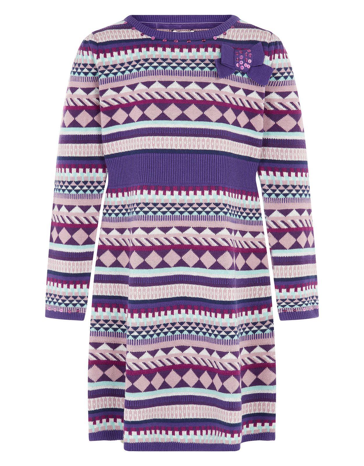 Geo Knitted Dress | Multi | Monsoon | dresses for Isla | Pinterest ...