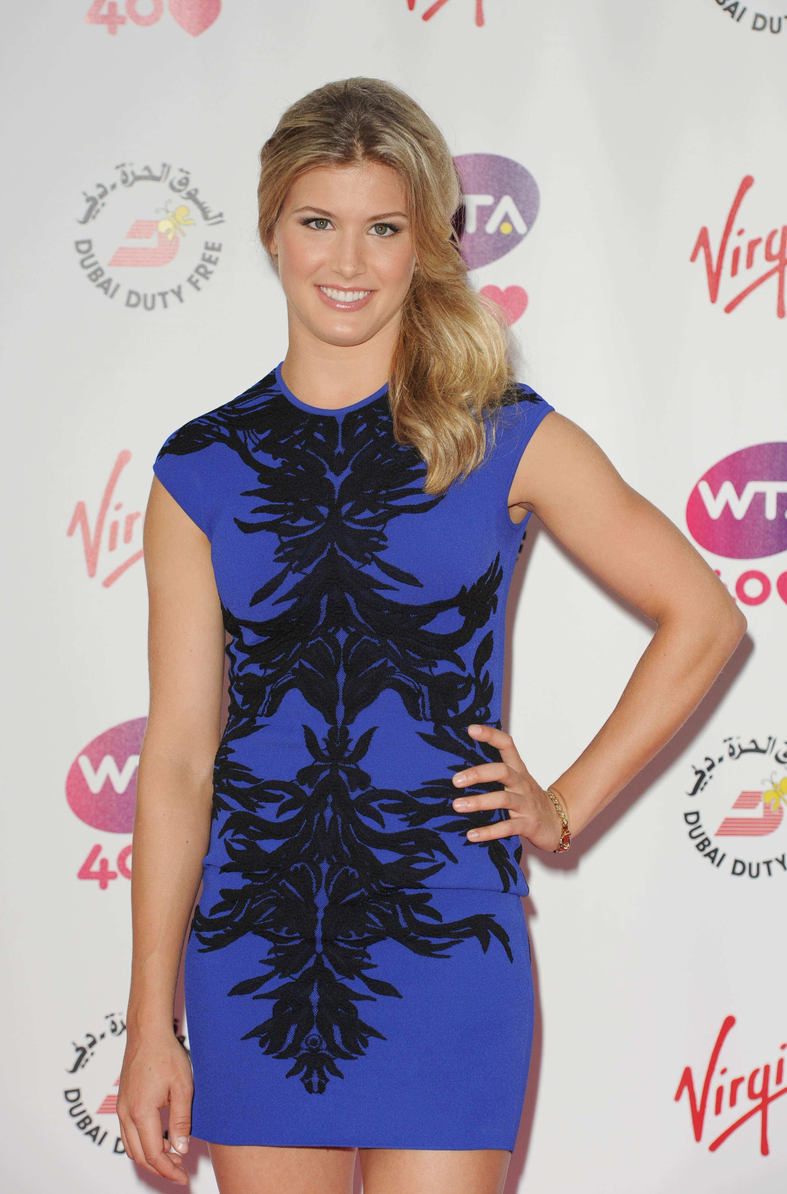 Eugenie Bouchard Pre Wimbledon Party Held At The Kensington Roof Gardens June 20 2013 Wta Eugenie Bouchard Tennis Players Female Athletic Women