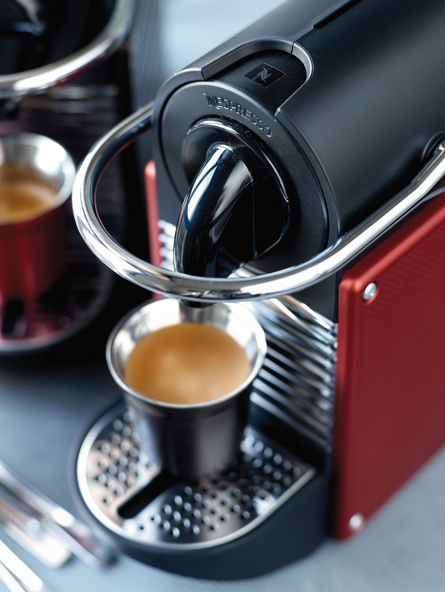 Nespresso Pixie Carmine One of our fastest single cup