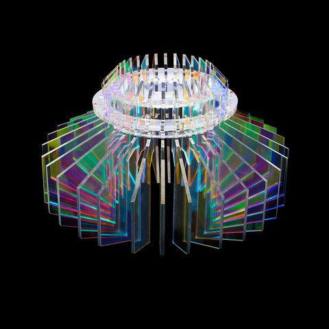 Mega Gemi Anemone Laser cut acrylic light shade £275.00  www.sarahangold.com