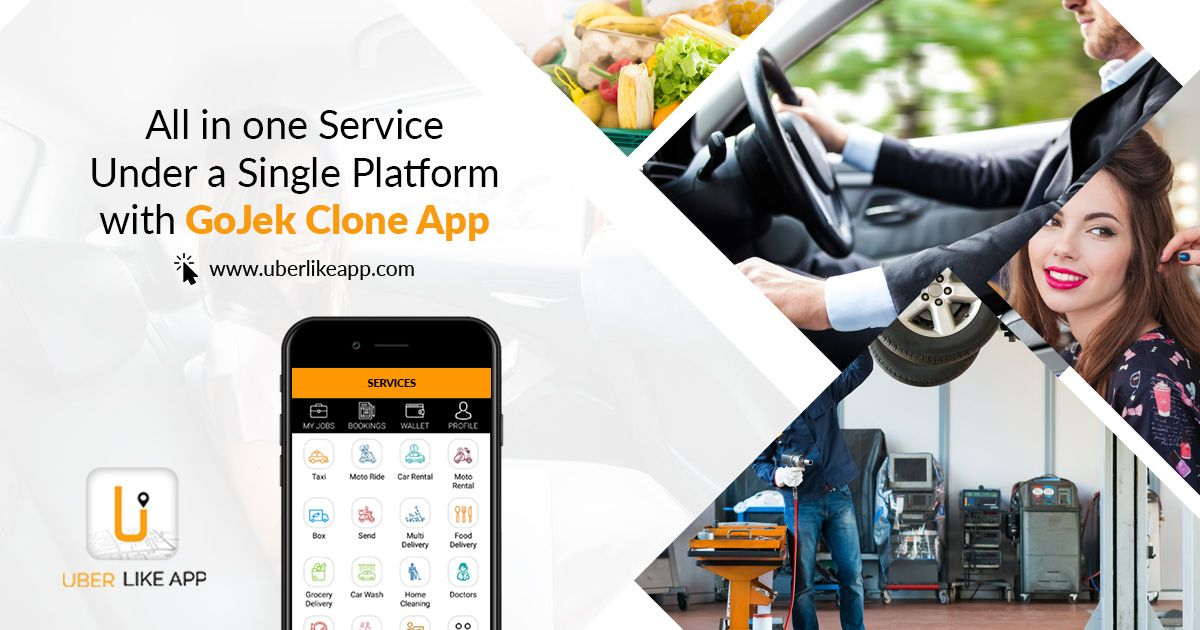 Gojek clone a hub of ondemand services at your budget