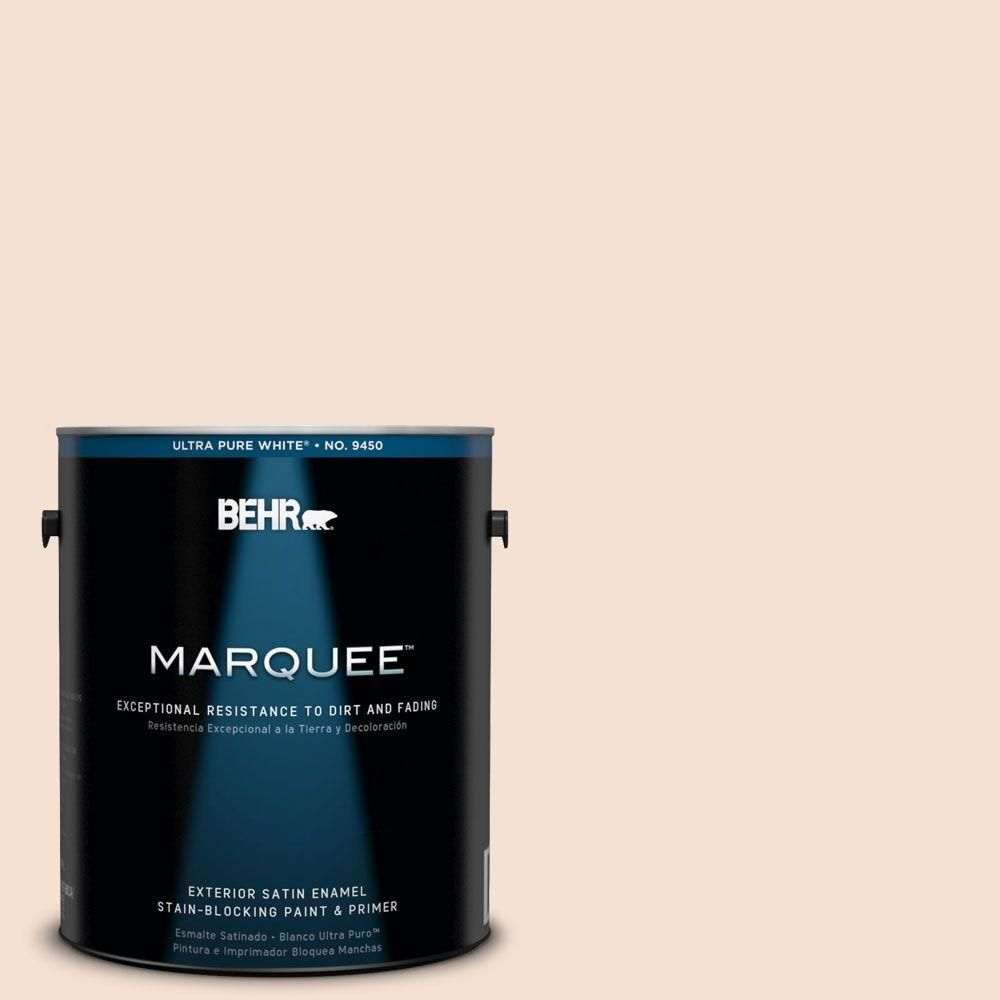 BEHR MARQUEE 1-gal. #240E-1 Muffin Mix Satin Enamel Exterior Paint