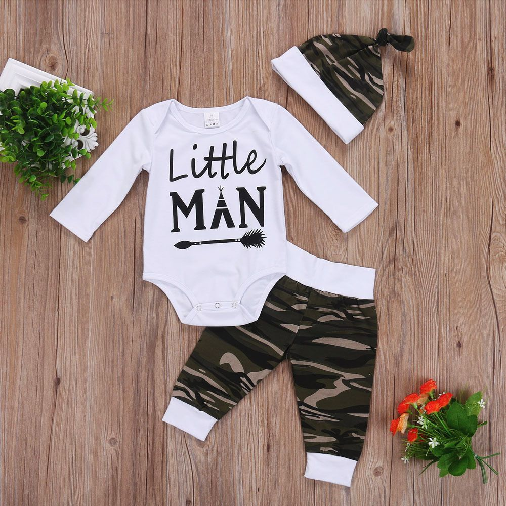 Newest Fashion Baby Boys Romper Outfit Amp X21 Size Tops Length Chest 2 Pants Length Material Amp X3a Cotton Ble Baby Boy Camo Baby Girl Pants Boy Outfits