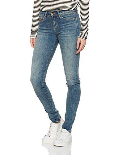 50845882ef38f Hilfiger Denim Women's MID RISE SKINNY NORA TOWST Skinny Jeans Blue (Toxic  Washed Stretch) W26/L32