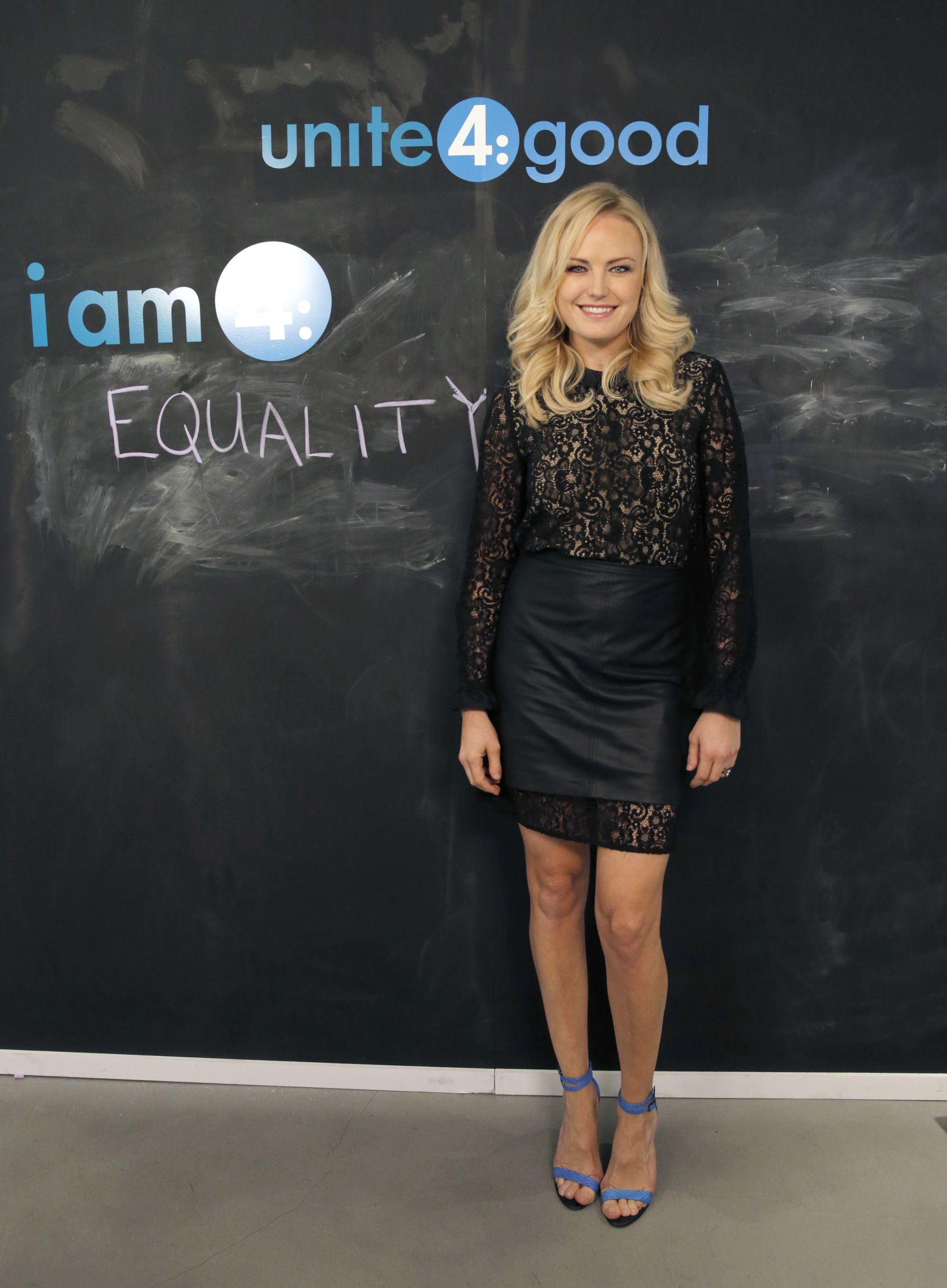 Malin Akerman attends the Variety Studio supporting unite4:good, on Wednesday, November, 20, 2013 in West Hollywood, California.