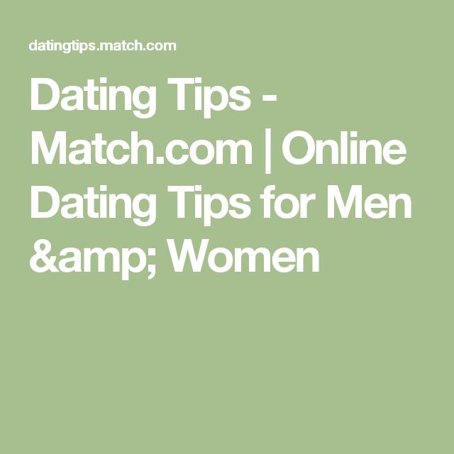 Match com tips for guys