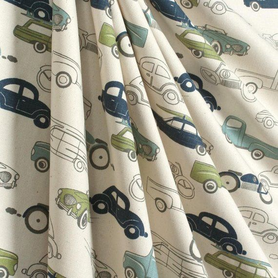 Retro Vintage Car Curtains Window Treatments Nursery Children's Boys Bedroom Curtain Panels Valance is part of Vintage bedroom Curtains -  P R O D U C T I O N T I M E All of our products are custom Made To Orderhowever most orders ship within 7 days We do ask you allow 521 business days for completion of your order to account for any delays in production and stock  Upon receipt of your order we will contact you with an estimated ship date  Please contact us directly prior to placing your order if you need your order expedited C O N T A C T We encourage you to contact us with any questions at all, we are happy to help! Send us an Etsy Message Email us directly at info [!at] sewmanylinens com