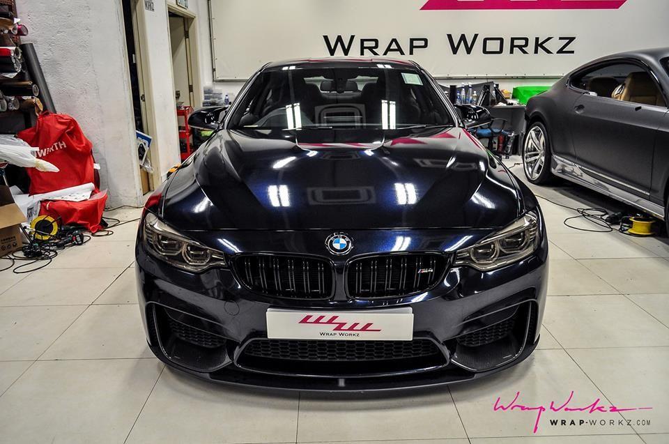 Mitternachtsblau BMW M4 Auto Modelle, Auto Taypen, Das